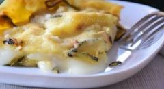 Lasagna zucchine e stracchino